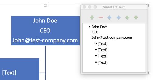 Add employee descriptions