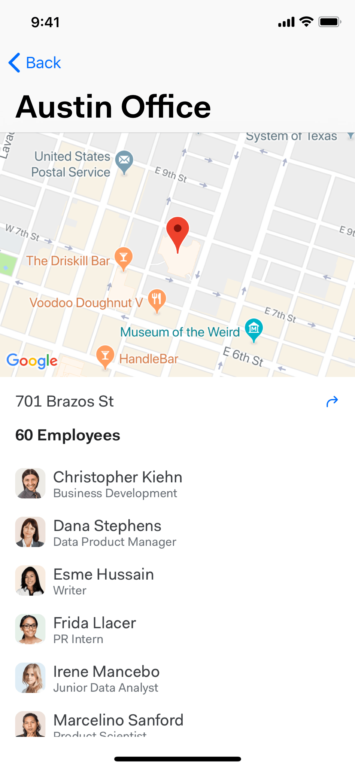 Learn about office locations