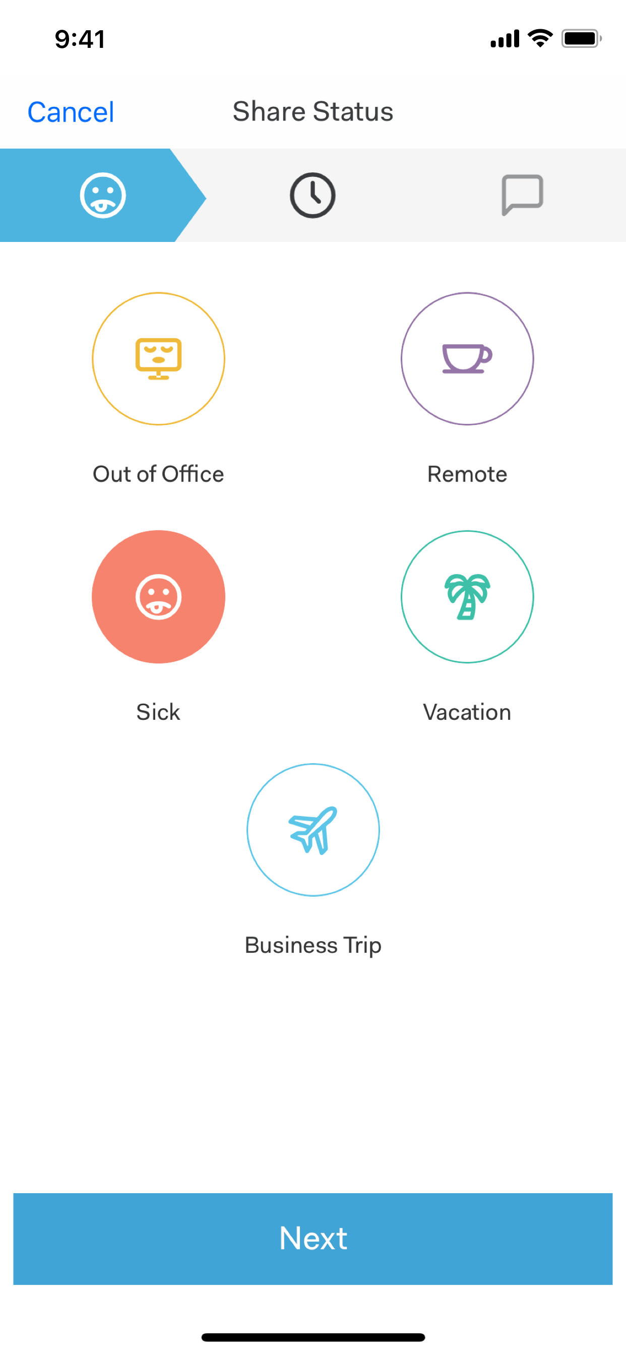 Out of office app